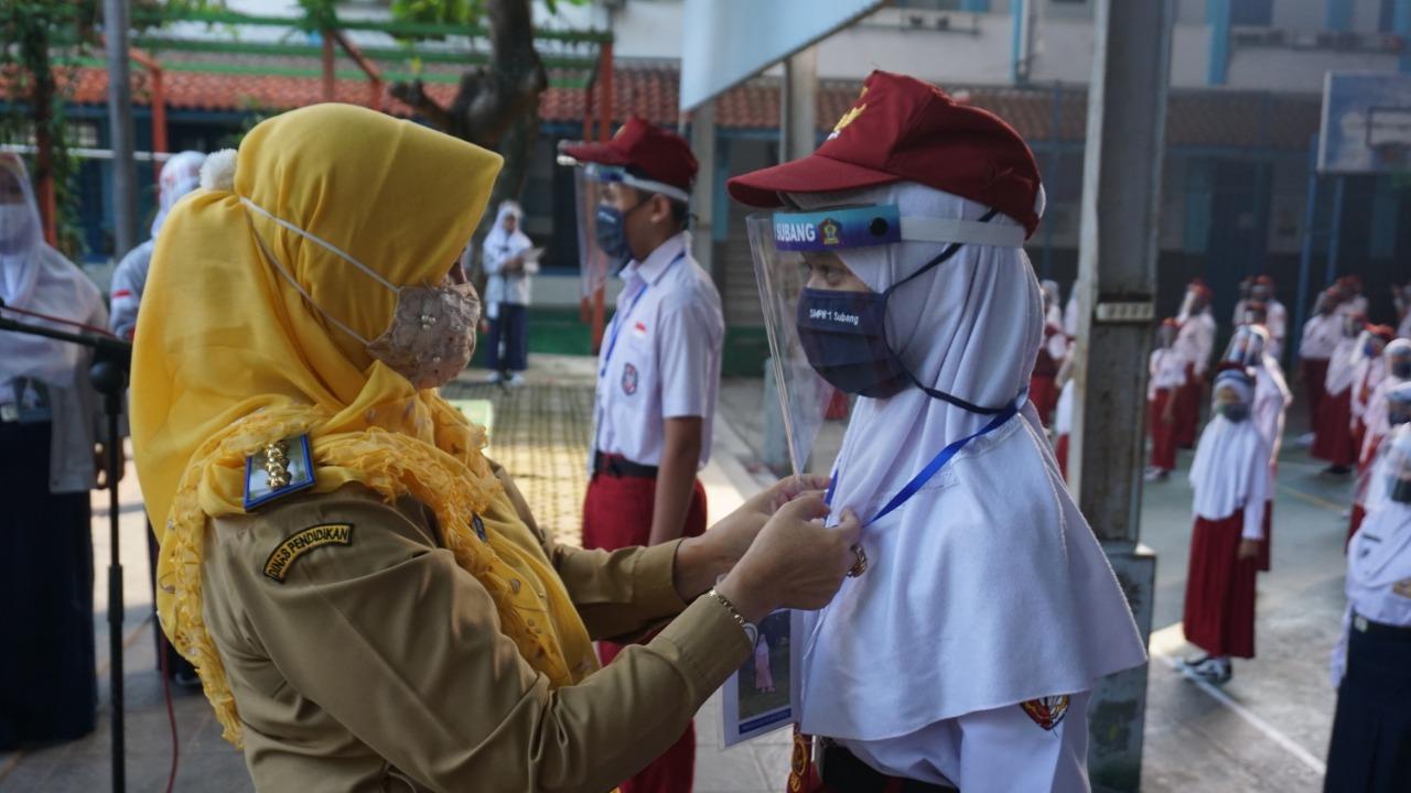 SMPN 1 Subang : Pengenalan Lingkungan Sekolah tahun Pelajaran 2020/2021