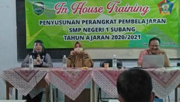 In House Training : Penyusunan Perangkat Pembelajaran TP 2020/2021